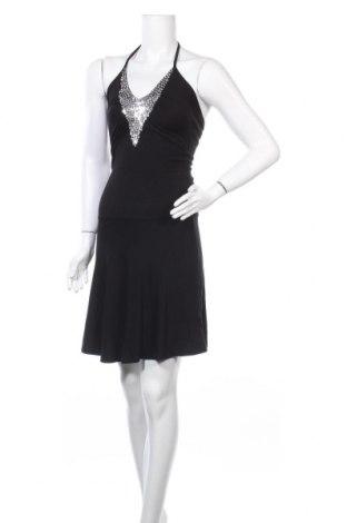 Рокля Tout Feu Tout Femme, Размер XS, Цвят Черен, 94% вискоза, 6% еластан, Цена 11,81лв.