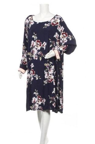 Φόρεμα Zizzi, Μέγεθος XXL, Χρώμα Μπλέ, Βισκόζη, Τιμή 15,59€