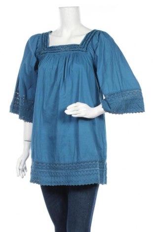 Τουνίκ, Μέγεθος L, Χρώμα Μπλέ, 100% βαμβάκι, Τιμή 10,23€