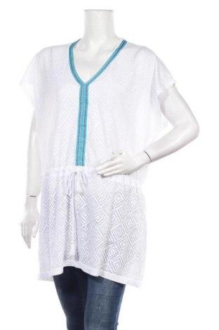 Туника Blue Motion, Размер M, Цвят Бял, 53% полиестер, 47% памук, Цена 19,85лв.