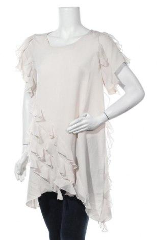 Τουνίκ H&M, Μέγεθος L, Χρώμα  Μπέζ, Πολυεστέρας, Τιμή 14,94€