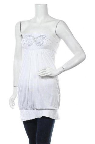 Τουνίκ La Redoute, Μέγεθος XS, Χρώμα Λευκό, Βισκόζη, Τιμή 9,26€