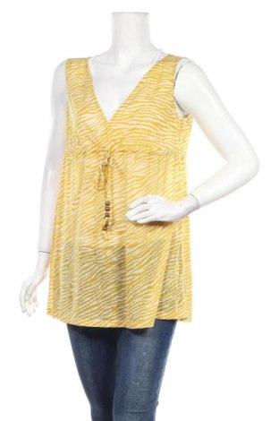 Τουνίκ New York & Company, Μέγεθος L, Χρώμα Κίτρινο, Πολυεστέρας, Τιμή 7,79€