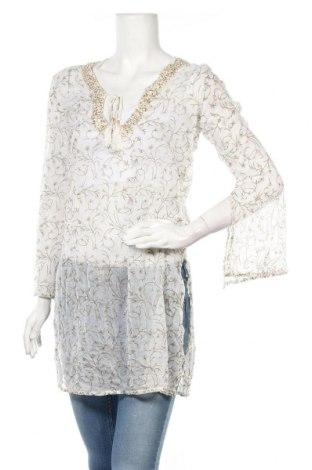 Τουνίκ Woman Collection, Μέγεθος L, Χρώμα Λευκό, Βισκόζη, Τιμή 13,51€