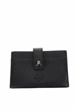 Πορτοφόλι επαγγελματικών καρτών Massimo Dutti, Χρώμα Μαύρο, Γνήσιο δέρμα, Τιμή 16,29€