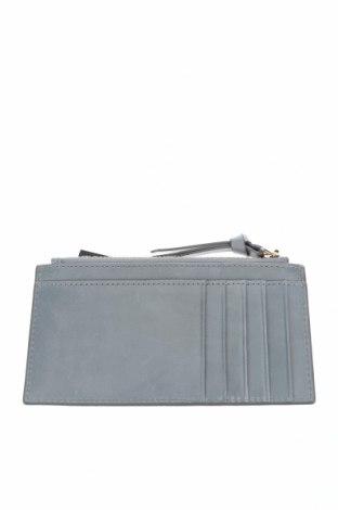 Πορτοφόλι επαγγελματικών καρτών Massimo Dutti, Χρώμα Μπλέ, Γνήσιο δέρμα, Τιμή 22,81€