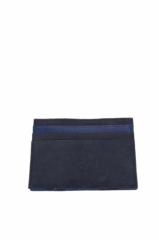 Визитник Massimo Dutti, Цвят Син, Естествени пера, Цена 22,42лв.