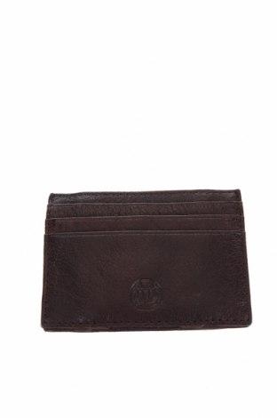Визитник Massimo Dutti, Цвят Кафяв, Естествена кожа, Цена 25,08лв.