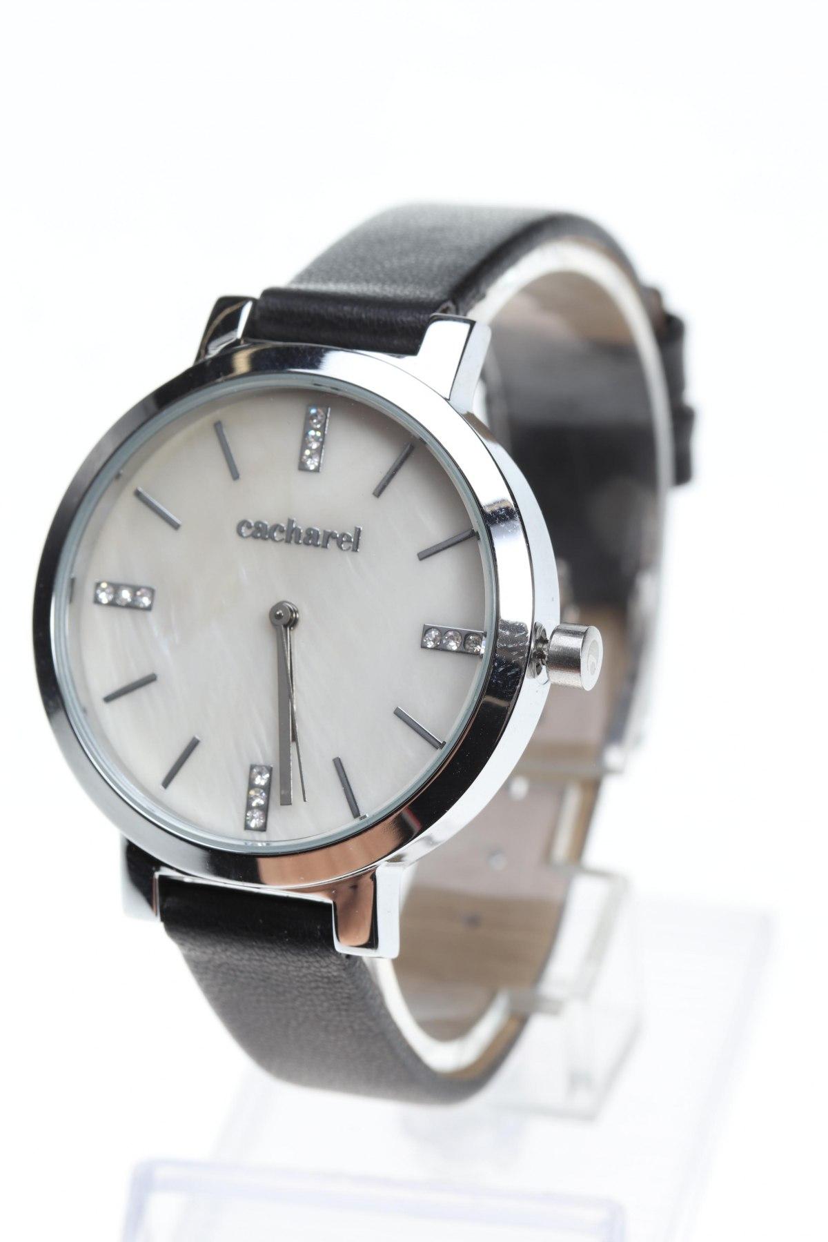 Ρολόι Cacharel, Χρώμα Μαύρο, Μέταλλο, δερματίνη, Τιμή 33,92€