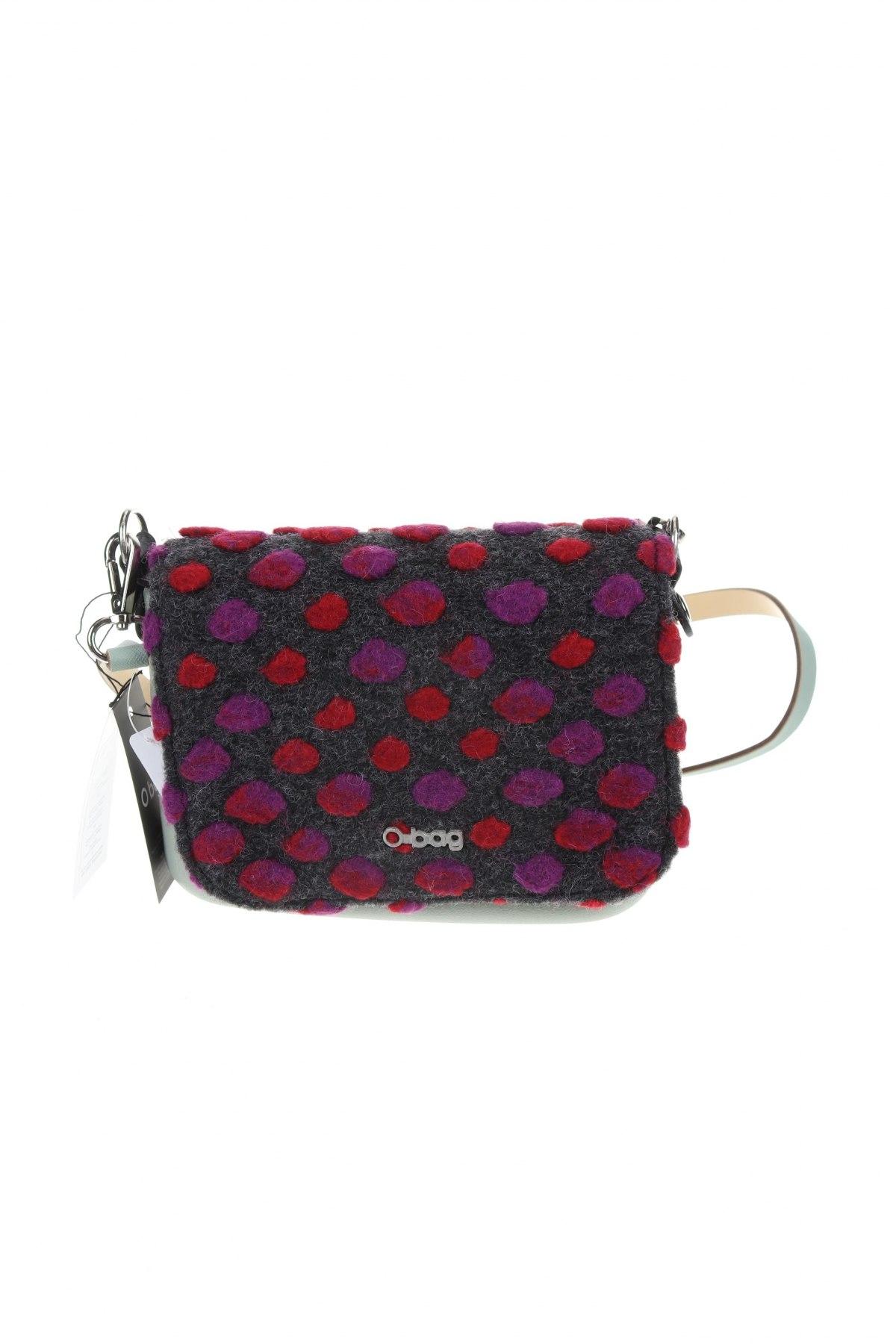 Γυναικεία τσάντα O bag, Χρώμα Πράσινο, Κλωστοϋφαντουργικά προϊόντα, πολυουρεθάνης, δερματίνη, Τιμή 49,87€