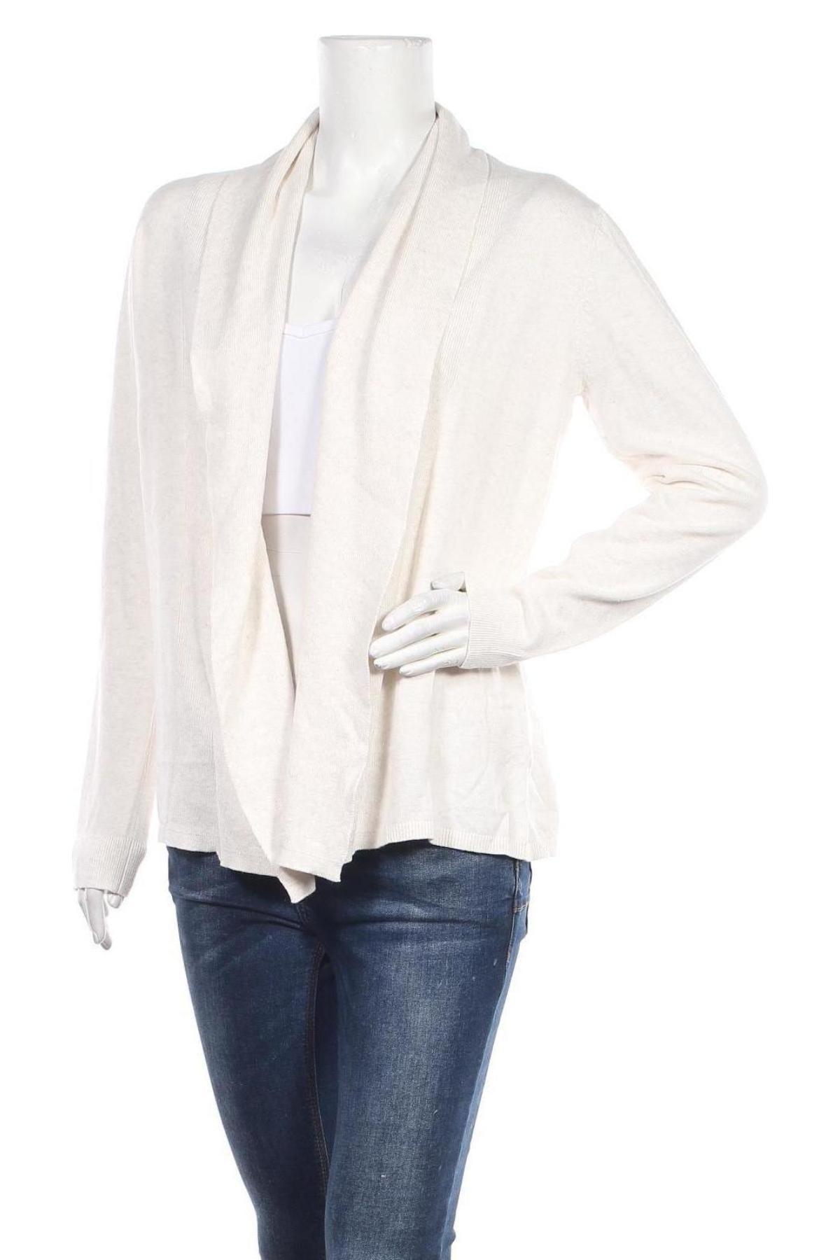 Дамска жилетка Signal, Размер M, Цвят Бял, 60% памук, 40% вискоза, Цена 23,20лв.