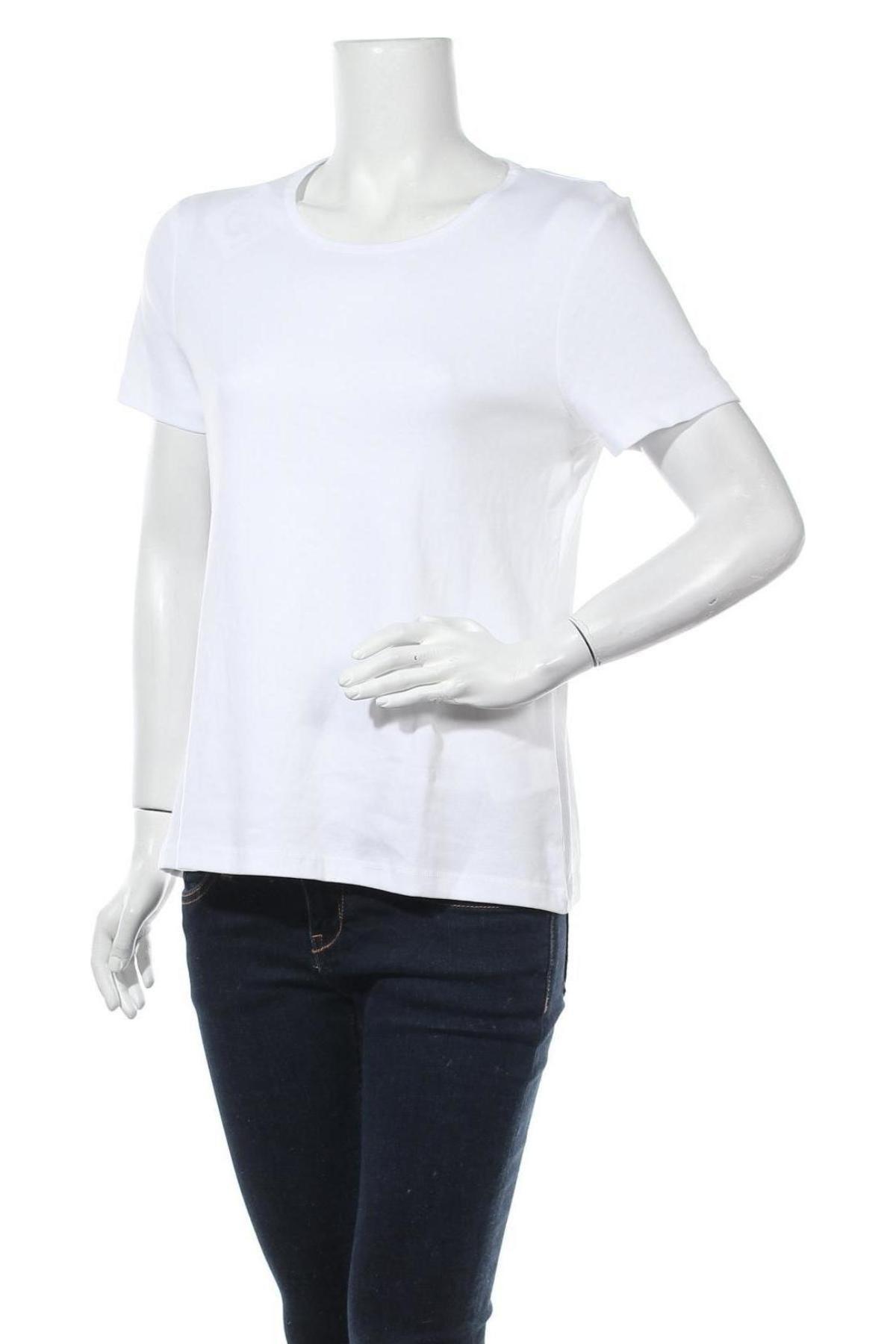 Дамска тениска Montego, Размер XL, Цвят Бял, Памук, Цена 9,88лв.