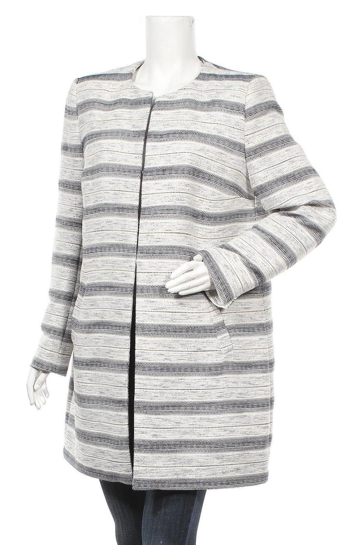 Дамско палто Montego, Размер XL, Цвят Многоцветен, 67% полиестер, 33% памук, Цена 28,06лв.
