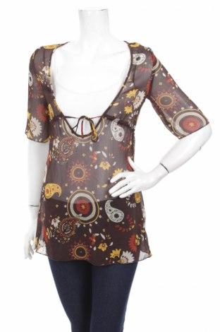Дамска блуза Fresh Made, Размер XS, Цвят Многоцветен, 100% полиестер, Цена 4,62лв.