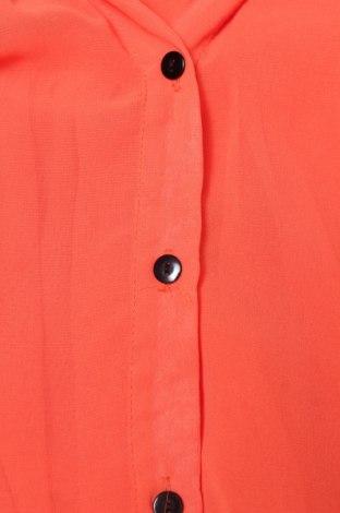 Γυναικείο πουκάμισο, Μέγεθος S, Χρώμα Πορτοκαλί, Τιμή 9,90€