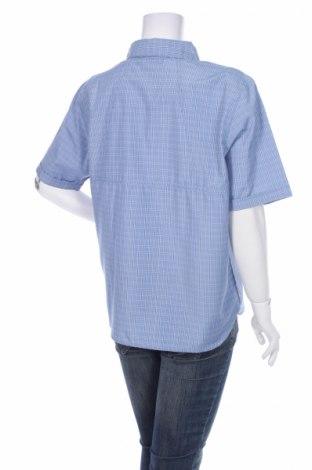 Γυναικείο πουκάμισο Maier Sports, Μέγεθος L, Χρώμα Μπλέ, 85% πολυεστέρας, 15% βισκόζη, Τιμή 14,85€