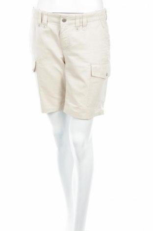 Γυναικείο κοντό παντελόνι Street One, Μέγεθος S, Χρώμα  Μπέζ, 52% πολυεστέρας, 30% πολυαμίδη, 18% βαμβάκι, Τιμή 3,47€