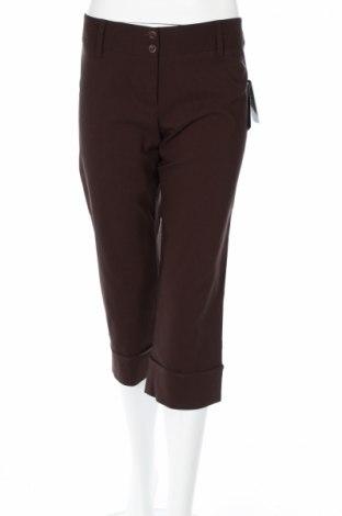 Дамски панталон A.Byer, Размер M, Цвят Кафяв, 75% вискоза, 22% полиамид, 3% еластан, Цена 7,20лв.