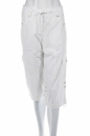 Дамски панталон Nautic Club, Размер M, Цвят Бял, 100% памук, Цена 7,70лв.