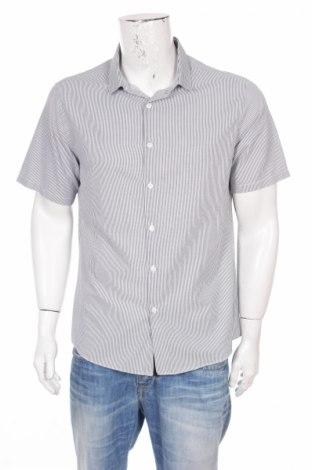 Мъжка риза Topman, Размер L, Цвят Бял, 55% памук, 45% полиестер, Цена 4,20лв.