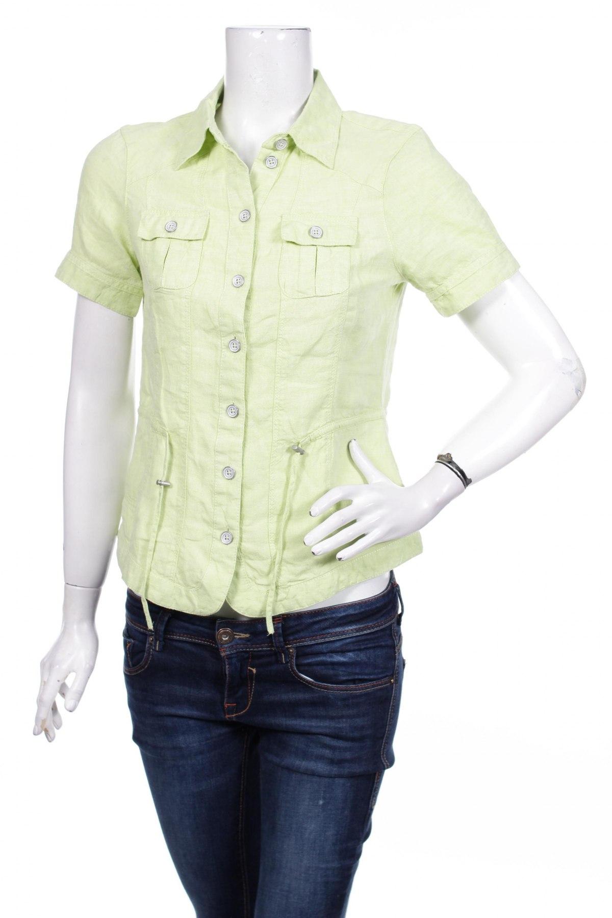 Γυναικείο πουκάμισο Bonita, Μέγεθος S, Χρώμα Πράσινο, Τιμή 9,90€