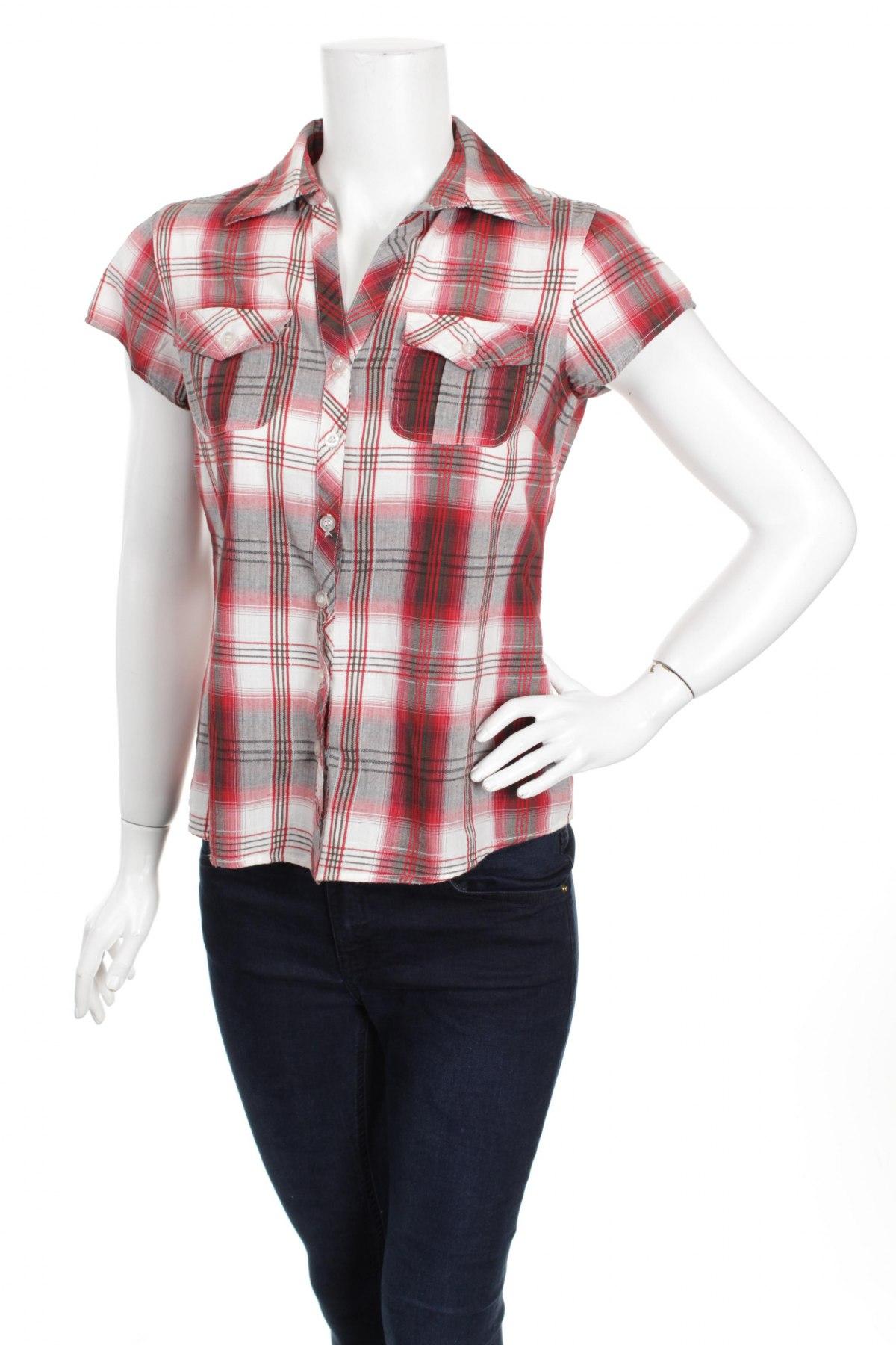 Γυναικείο πουκάμισο Paprika, Μέγεθος S, Χρώμα Κόκκινο, 100% βαμβάκι, Τιμή 11,13€