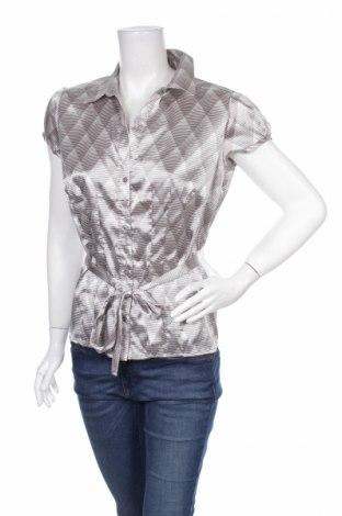 Γυναικείο πουκάμισο B.Young, Μέγεθος M, Χρώμα Γκρί, 100% πολυεστέρας, Τιμή 13,61€