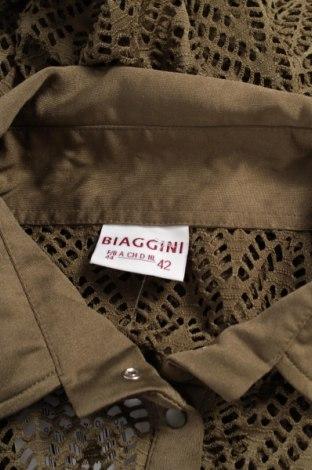 Γυναικείο πουκάμισο Biaggini, Μέγεθος L, Χρώμα Πράσινο, Πολυεστέρας, Τιμή 9,90€
