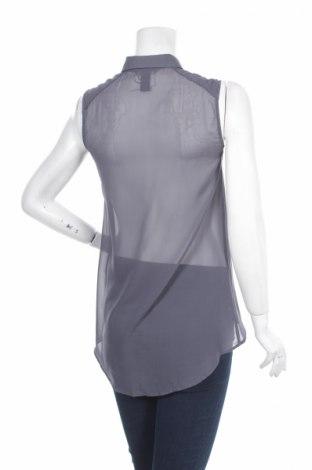 Γυναικείο πουκάμισο H&M, Μέγεθος S, Χρώμα Μπλέ, 100% πολυεστέρας, Τιμή 12,37€