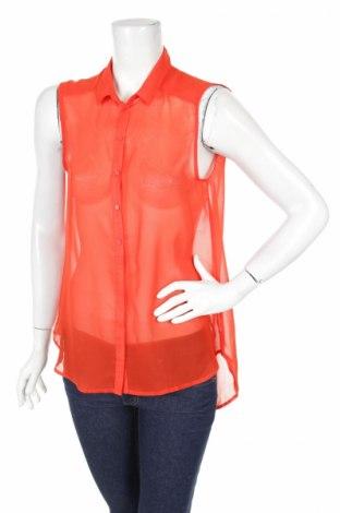 Γυναικείο πουκάμισο H&M, Μέγεθος M, Χρώμα Κόκκινο, Τιμή 9,28€