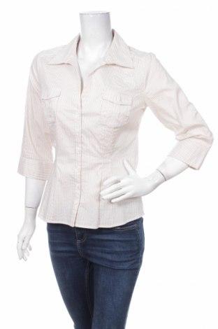 Γυναικείο πουκάμισο H&M, Μέγεθος M, Χρώμα Λευκό, 40% πολυεστέρας, 34% βαμβάκι, 22% πολυαμίδη, 4% ελαστάνη, Τιμή 19,18€