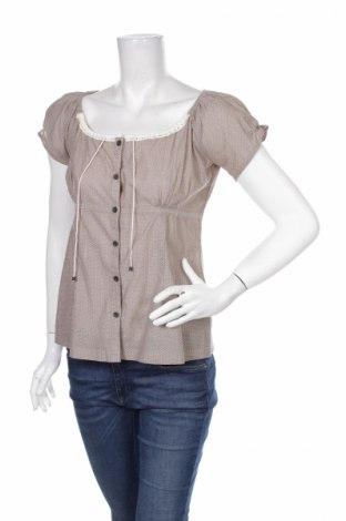 Γυναικείο πουκάμισο Mbj, Μέγεθος S, Χρώμα Καφέ, 100% βαμβάκι, Τιμή 12,99€