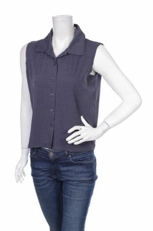 Дамска риза Pure, Размер M, Цвят Син, 95% полиестер, 5% еластан, Цена 4,00лв.