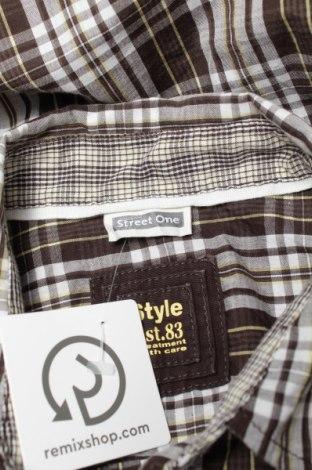 Γυναικείο πουκάμισο Street One, Μέγεθος L, Χρώμα Πολύχρωμο, 60% βαμβάκι, 40% πολυεστέρας, Τιμή 13,61€