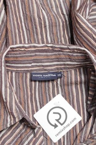 Γυναικείο πουκάμισο Tom Tailor, Μέγεθος M, Χρώμα Καφέ, 65% βαμβάκι, 35% πολυεστέρας, Τιμή 16,70€