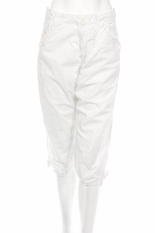 Γυναικείο παντελόνι H&M Divided, Μέγεθος M, Χρώμα Λευκό, Βαμβάκι, Τιμή 4,27€
