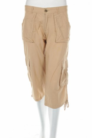 Дамски панталон Zara, Размер S, Цвят Бежов, Памук, Цена 6,16лв.