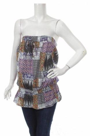 Γυναικείο αμάνικο μπλουζάκι Poetry, Μέγεθος M, Χρώμα Πολύχρωμο, Βαμβάκι , Τιμή 5,75€