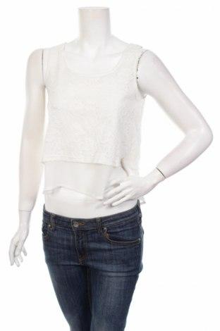 Γυναικείο αμάνικο μπλουζάκι Ann Christine, Μέγεθος S, Χρώμα Λευκό, Τιμή 2,32€