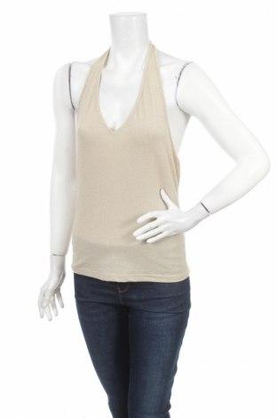 Γυναικείο αμάνικο μπλουζάκι Energy, Μέγεθος M, Χρώμα  Μπέζ, 66% πολυακρυλικό, 16% πολυεστέρας, 13% πολυαμίδη, 5% ελαστάνη, Τιμή 4,27€