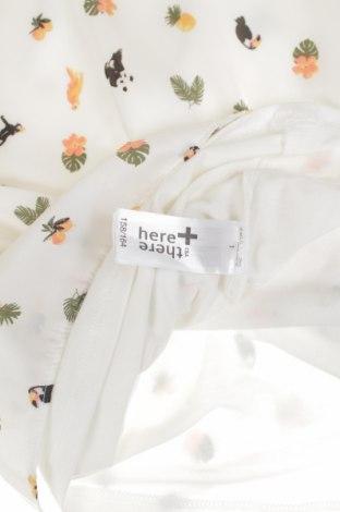 Детска блуза Here+There, Размер 12-13y/ 158-164 см, Цвят Бял, 96% вискоза, 4% еластан, Цена 3,12лв.