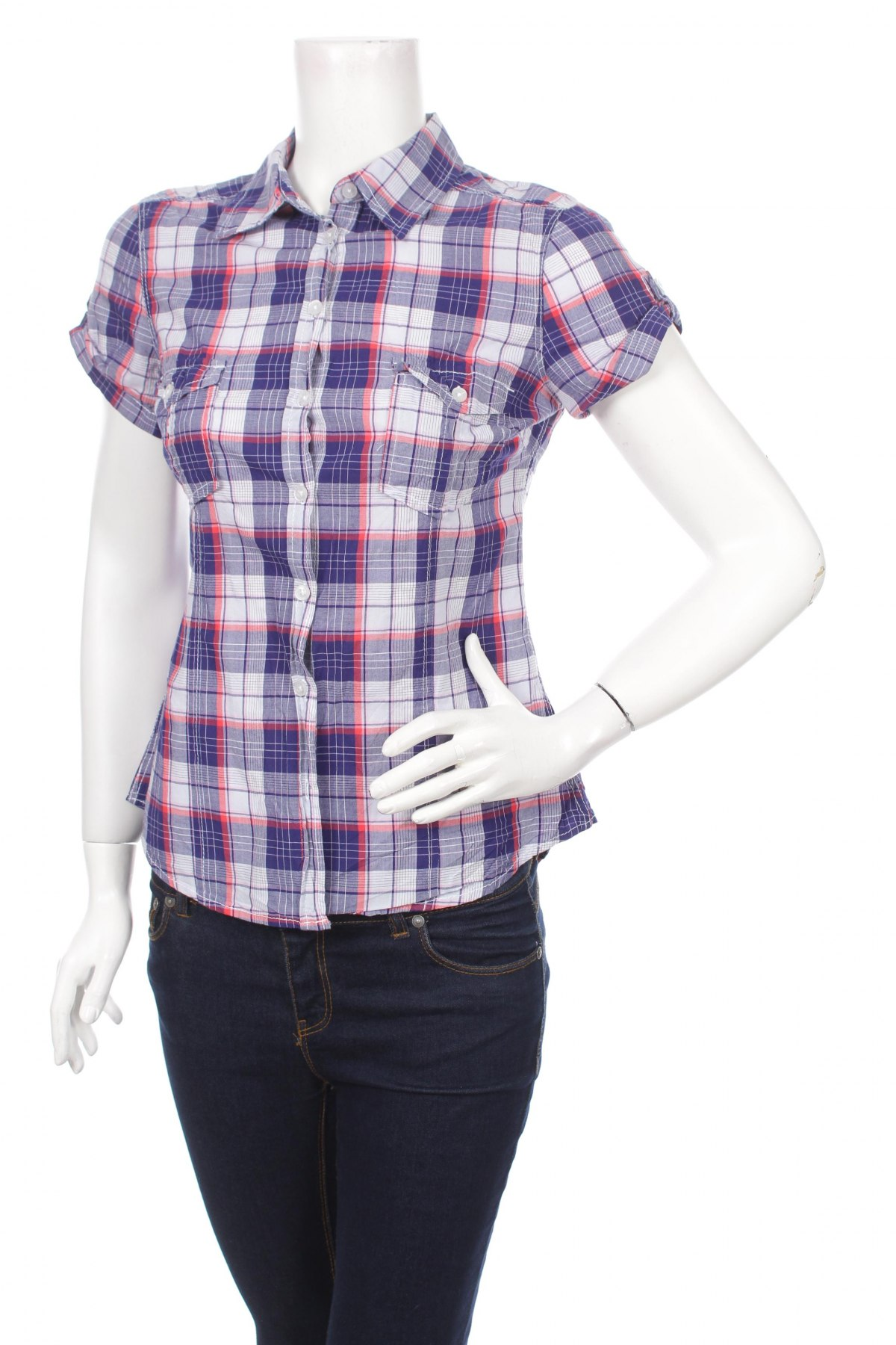 Γυναικείο πουκάμισο H&M L.o.g.g, Μέγεθος M, Χρώμα Πολύχρωμο, Τιμή 13,92€