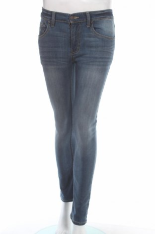Дамски дънки Levi's, Размер M, Цвят Син, 90% памук, 9% полиестер, 14% еластан, Цена 43,47лв.