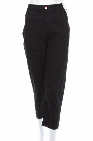 Дамски панталон Evans, Размер XXL, Цвят Черен, 70% памук, 28% полиестер, 2% еластан, Цена 49,40лв.