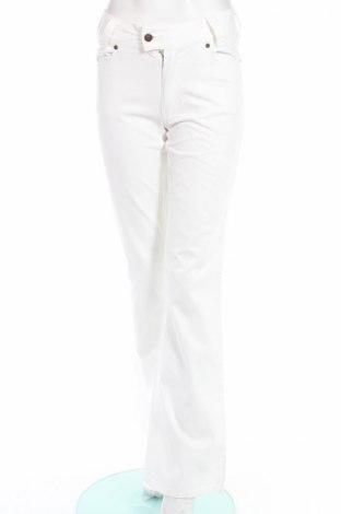 Дамски панталон Just Casual, Размер S, Цвят Бял, 100% памук, Цена 10,05лв.