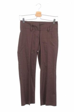 Дамски панталон Just Urban, Размер XS, Цвят Кафяв, 97% памук, 3% еластан, Цена 9,81лв.