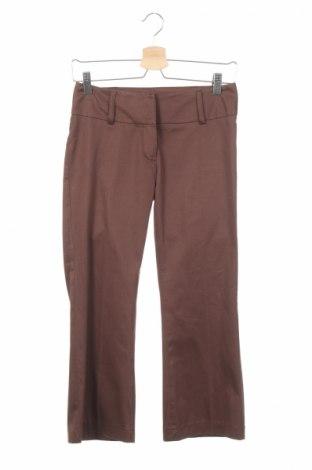 Дамски панталон Just Urban, Размер XS, Цвят Кафяв, 97% памук, 3% еластан, Цена 9,27лв.