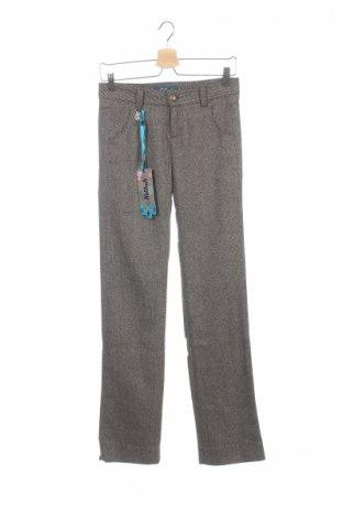 Дамски панталон Killah, Размер XS, Цвят Многоцветен, 80% вълна, 20% полиамид, Цена 65,72лв.