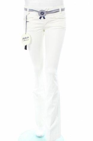 Γυναικείο παντελόνι Killah, Μέγεθος XS, Χρώμα Λευκό, 98% βαμβάκι, 2% ελαστάνη, Τιμή 26,31€