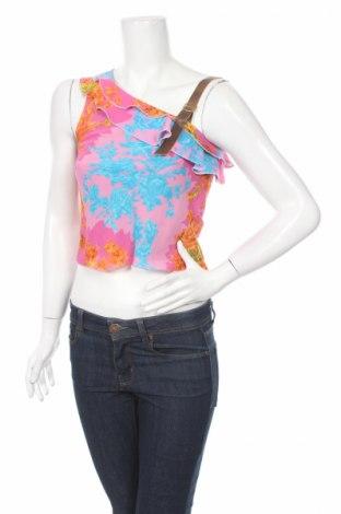 Γυναικείο αμάνικο μπλουζάκι Blue Bird, Μέγεθος S, Χρώμα Πολύχρωμο, Βισκόζη, Τιμή 2,48€